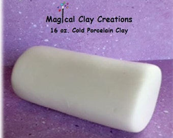 Cold Porcelain Clay 16oz. White