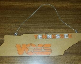 Handmade Tennesse Vols Hanging Plaque