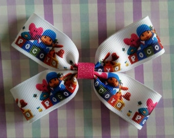 Pocoyo hair bow