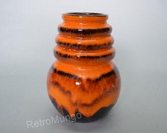 Fat Lava West German vase by Scheurich  - Wien Serie 269-15