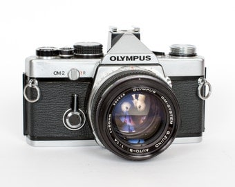 Near-Mint Olympus OM-2 with 50mm f/1.4 Lens