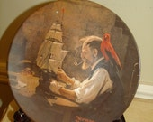 Vintage 8-pc collectible Norman Rockwell's Series Plates