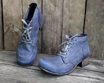 Leather ankle boots OMG for women