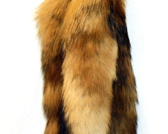 5 Wild Red fox Tail Key Chain Free Shipping