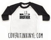 Lil Brother - Sibling Shirt - Little Brother Shirt - Toddler T-Shirt