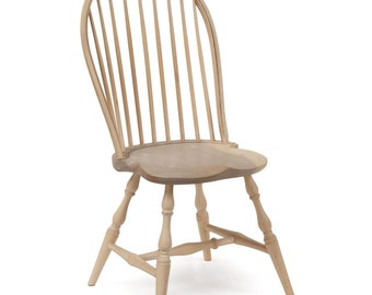 Antique Miniature American Windsor Side Chair, 20th Centry, 411PZH08P