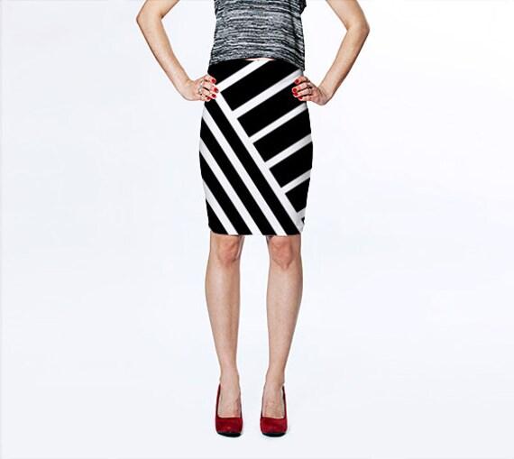 black and white skirt black skirt pencil skirt fitted skirt