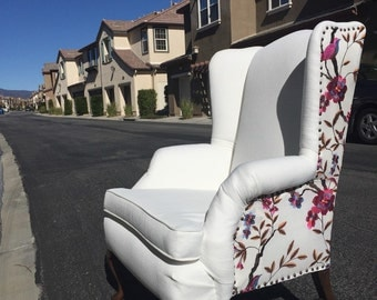 Cardinal Wing Back Chair