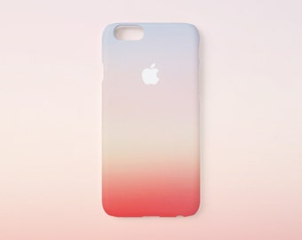 iPhone 7 case - Sunset - iPhone 6 case, iPhone 6 Plus case, iPhone 7 case, iPhone 5 case, iPhone SE, hard shell non-glossy L24
