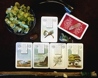 Mini The Seasons - See a year ahead! Intuitive psychic tarot oracle card divination reading.