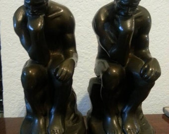 Thinking Man Bookends