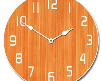Retro Orange Clock