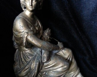 Lovely Old Statue of Demeter