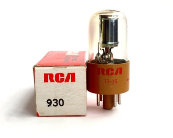 RCA 930  phototube - new old stock -  mint condition - red / infrared sensitive - IR detector