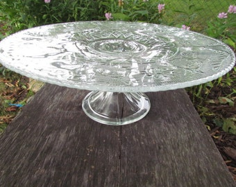 Cake Stand Salvers Crystal by Colony