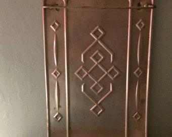 Vintage French Aluminium Utensil Rack