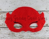 Red Owl Dress up Mask