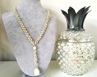 Vintage Statement Pearl Necklace