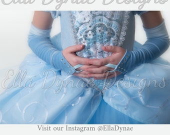 Cinderella Accessories (Classic Style) Gloves & Tiara