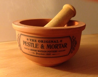 Henry Watson Pottery Pestle and Mortar