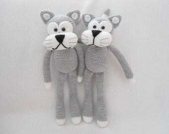 Lovely cat crochet pattern