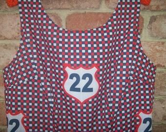 Size 18 Vintage Style Speedway Dress
