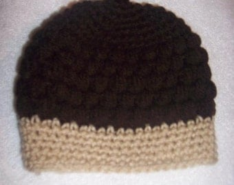 Acorn hat newborn to 12 months Crocheted