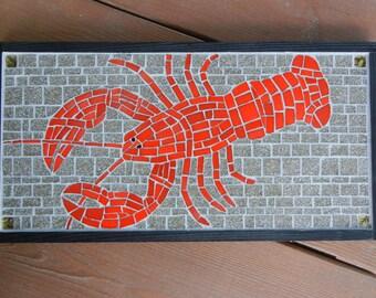 Lobster mosaic