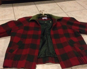 Pendleton Wool Plaid Zip-Up