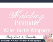 Matching Water Bottle Wrappers - Custom Water Bottle Wrappers