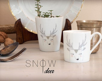 "teacup ""Snow deer"""