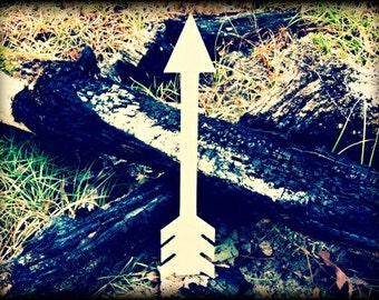Arrow 5 Unfinished Wooden Craft Shape, Do-It-Yourself
