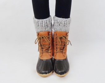 Knit Boot Cuffs Wool Boot Warmers Boot Toppers | THE ONTARIOS