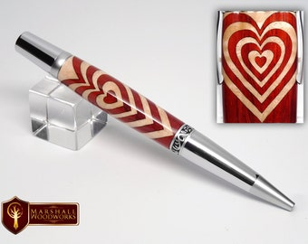 Segmented Heart Pen