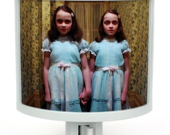 The Shining twins to keep you from sleeping LOL night light nursery bathroom hallway bedroom TAKE IT with