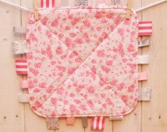 Pink Cherry Blossom Ribbon Blankie