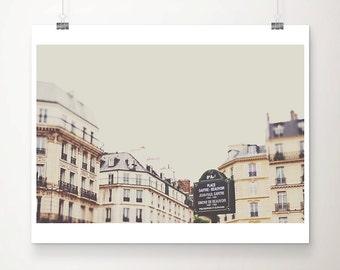 Paris photograph Paris decor Paris print Paris architecture photograph Paris art French decor travel photography architecture print