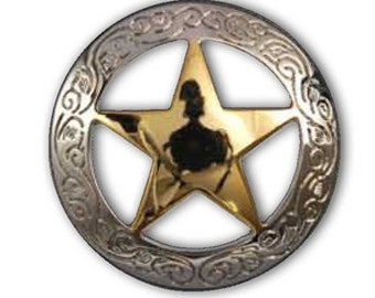 Texas Star Concho - 3 Sizes