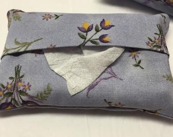 Kleenex holder-pocket tissue holder-tissue holder-tissue cover-kleenex tissues-purse accessory-teachers gift-tissue cozy-kleenex tissue cozy
