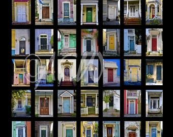"""Poster of """"Charleston Doors"""""""