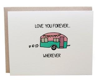 Love Card, Camper, I Love You