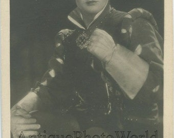 Lemeshev Russian Soviet opera singer antique photo