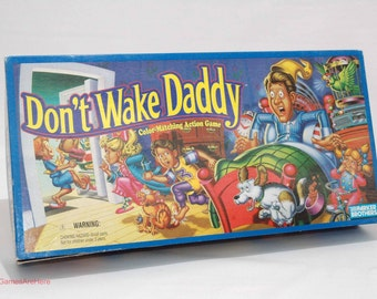 Don't Wake Daddy Color Matching Game from Parker Brothers 1992 COMPLETE