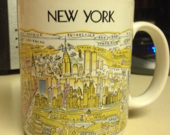 "New York ""view of the world"" Mug"