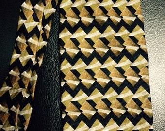 Vintage Jhane Barnes Geometric Tie