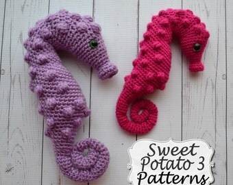 Pygmy Seahorse Crochet Stuffy Pattern