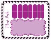 Mani Pack Printable Card 4x5