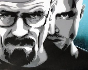 Breaking Bad - Walter White and Jesse Pinkman