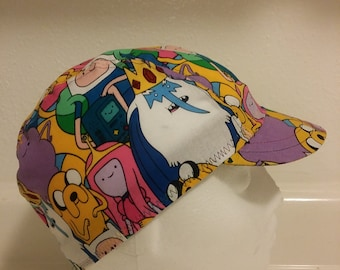 Adventure Time 3 Panel Cycling Cap