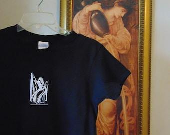 Elizabeth Siddal Pre-Raphaelite T Shirt, size M